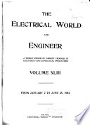 """""""The Electrical World and Engineer"""""""