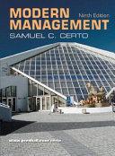 Modern Management Book