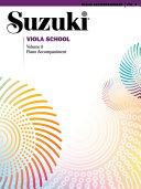 Suzuki Viola School - Volume 8
