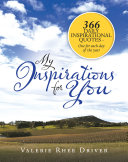 My Inspirations for You Pdf/ePub eBook