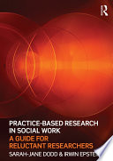 Practice Based Research in Social Work