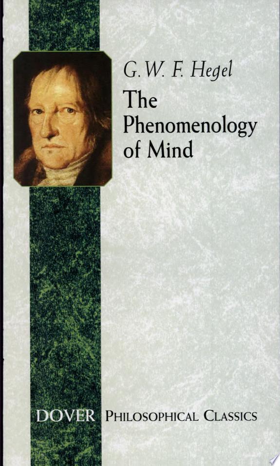The+Phenomenology+of+Mind