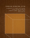 Cover of Fundamentals of Signals and Systems Using the Web and MATLAB