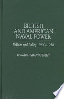 British And American Naval Power