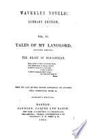 Tales of my landlord  Second series  The heart of Mid Lothian Book