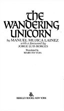 The Wandering Unicorn Book