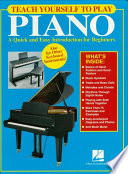 Teach Yourself to Play Piano (Music Instruction)