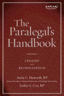 The Paralegal's Handbook