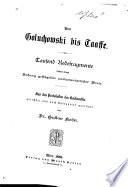 Von Goluchowshi bis Taaffe