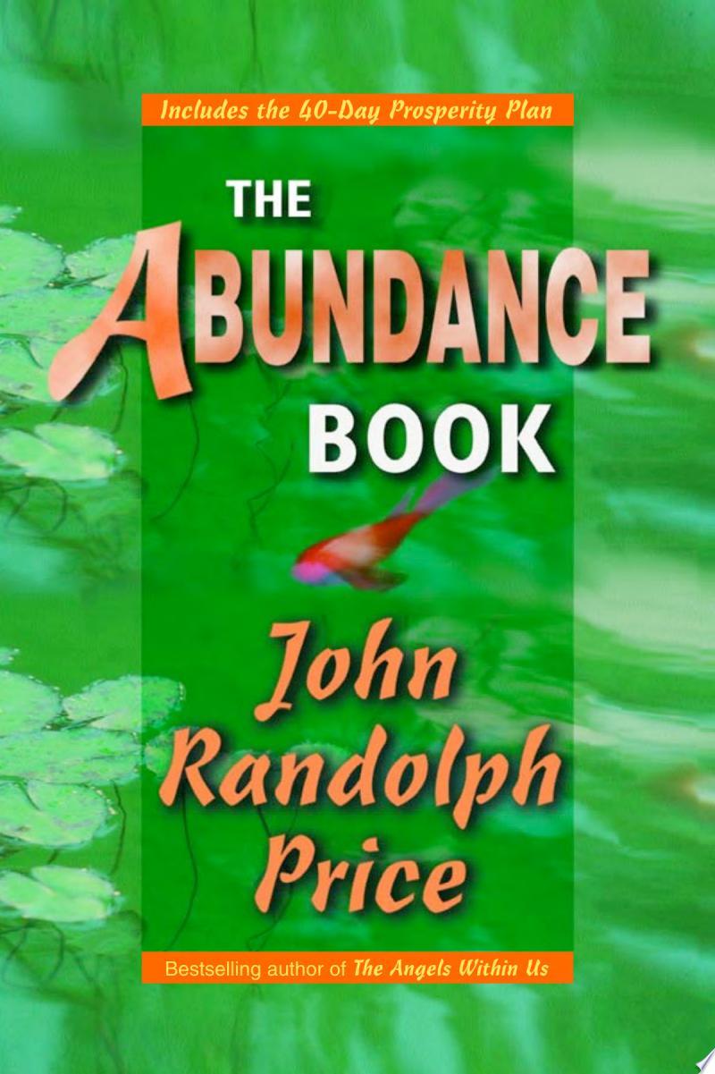 The Abundance Book banner backdrop