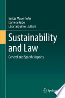 Sustainability and Law