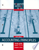 Accounting Principles, Study Guide, Volume I, Chapters 1-12