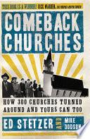 Comeback Churches Book