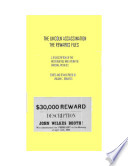 The Lincoln Assassination   The Rewards Files