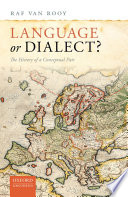 Language Or Dialect