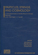 Particles  Strings  and Cosmology Book