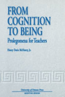 From Cognition to Being Pdf/ePub eBook