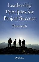 Leadership Principles for Project Success Pdf/ePub eBook