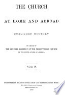 The Church at Home and Abroad Book PDF