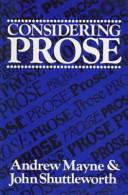 Considering Prose