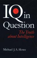 IQ in Question Pdf/ePub eBook