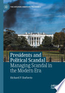 Presidents and Political Scandal
