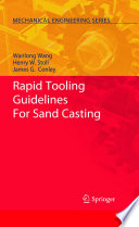 Rapid Tooling Guidelines For Sand Casting Book