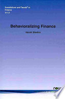 Behavioralizing Finance Book