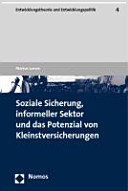 Soziale Sicherung, informeller Sektor und das Potenzial von ...