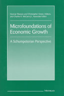 Microfoundations of Economic Growth Book