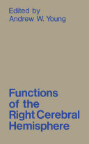 Functions of the Right Cerebral Hemisphere Pdf/ePub eBook