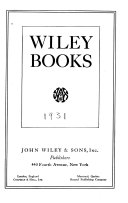 Wiley Books