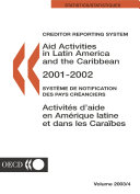 Aid Activities in Latin America and the Caribbean 2003