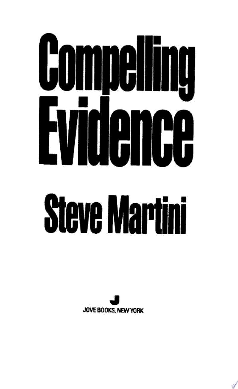 Compelling Evidence banner backdrop