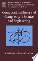 Computational Error and Complexity in Science and Engineering Book