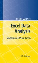Excel Data Analysis Book