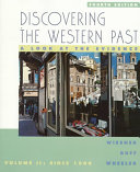Discovering The Western Past PDF