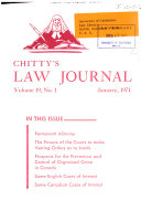 Chitty S Law Journal