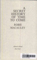 A SECRET HISTORY OF TIME TO COME Book