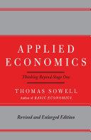 Applied Economics Pdf/ePub eBook