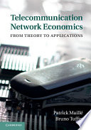 Telecommunication Network Economics Book