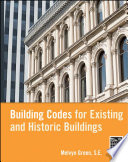 Building Codes For Existing And Historic Buildings Book PDF