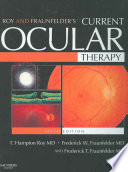 Roy and Fraunfelder s Current Ocular Therapy