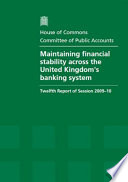 Maintaining Financial Stability Across The United Kingdom S Banking System