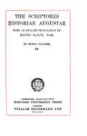 The Scriptores Historiae Augustae