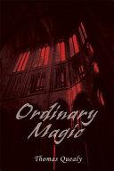 ORDINARY MAGIC [Pdf/ePub] eBook