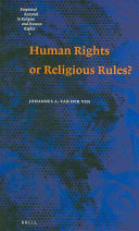 Human Rights Or Religious Rules