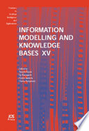 Information Modelling And Knowledge Bases Xv Book PDF