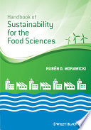 Handbook Of Sustainability For The Food Sciences Book PDF