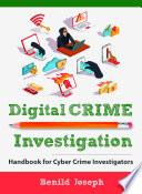 Digital Crime Investigation Book